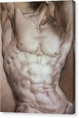Nude 9 B Canvas Print by Valeriy Mavlo