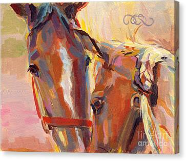 Nuzzling Hope Canvas Print by Kimberly Santini
