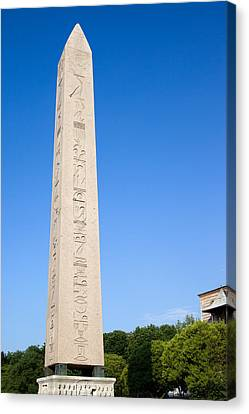 Obelisk Of Theodosius Canvas Print by Artur Bogacki