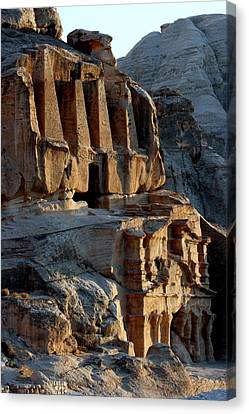 Obelisk Tomb & Bab Al Siq Triclinium Canvas Print by Joe & Clair Carnegie / Libyan Soup