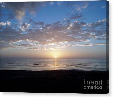 Ocean Sunset  Canvas Print by The Kepharts