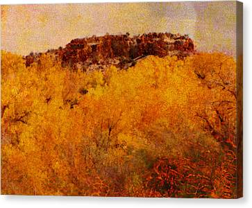 October  Canvas Print by Ann Powell