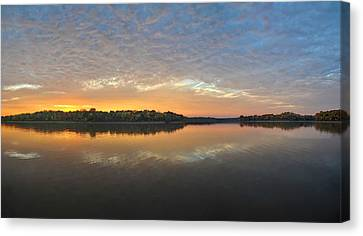 October Sky Canvas Print by Brian Mollenkopf