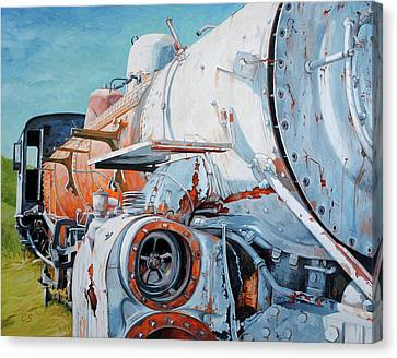 Off Track Canvas Print by Chris Steinken