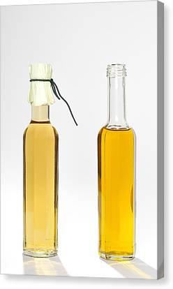 Oil And Vinegar Bottles Canvas Print by Matthias Hauser