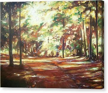 oil Canvas Print by Emery Franklin