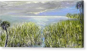 Okeechobee Canvas Print by Christy Usilton