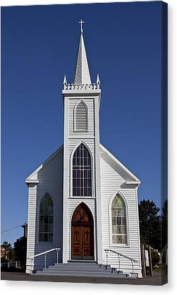 Old Bodega Church Canvas Print by Garry Gay