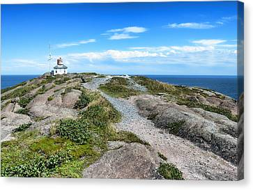 Old Cape Spear Lighthouse Canvas Print by Steve Hurt