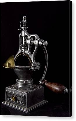 Old Coffee Machine Canvas Print by Zafer GUDER