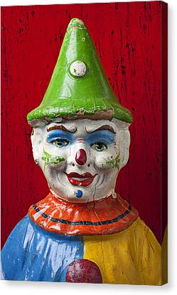 Old Cown Face Canvas Print by Garry Gay