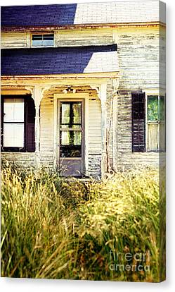 Old Home Canvas Print by HD Connelly