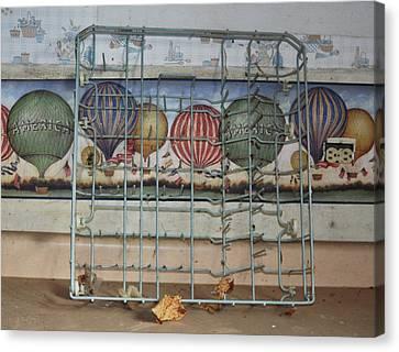 Old Kitchen Canvas Print by Todd Sherlock