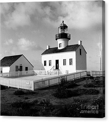Old Point Loma Lighthouse Canvas Print by Dean Robinson