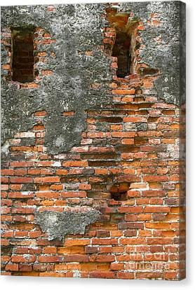 Old Ruins Canvas Print by Yali Shi
