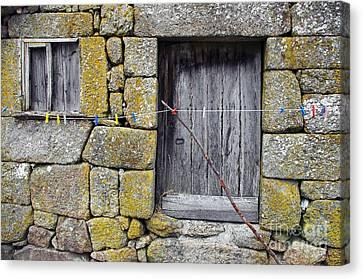 Old Rural House Canvas Print by Carlos Caetano