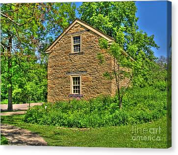 Old Stone House I Canvas Print by Jimmy Ostgard