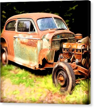 Old Timer Canvas Print by Laura Brightwood