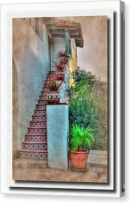 Old Town Stairs Canvas Print by Frank Garciarubio