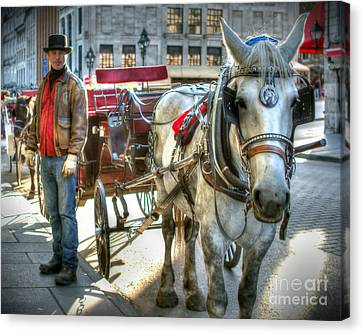 Old Ways Forever Canvas Print by Richard Burr
