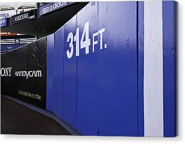 Old Yankee Stadium Short Porch Canvas Print by Paul Plaine