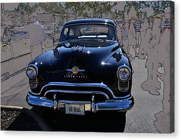 Olds 50 Canvas Print by Larry Bishop