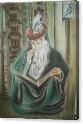 Omar Khayyam Canvas Print by Prasenjit Dhar