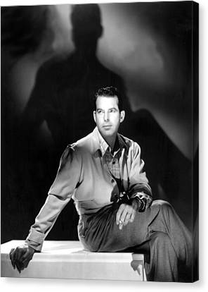 On Our Merry Way, Fred Macmurray, 1948 Canvas Print by Everett