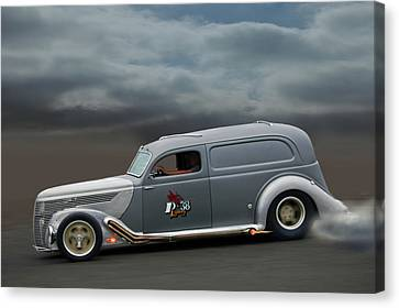 On The Flats Canvas Print by Bill Dutting