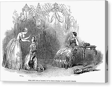 Opera: Marriage Of Figaro Canvas Print by Granger