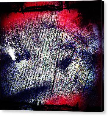 Opinion Of Stain Canvas Print by Jerry Cordeiro