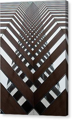 Optical Illusion Canvas Print by Keith Allen
