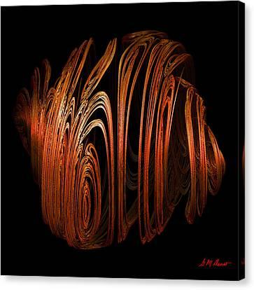 Orange Peel Canvas Print by Michael Durst