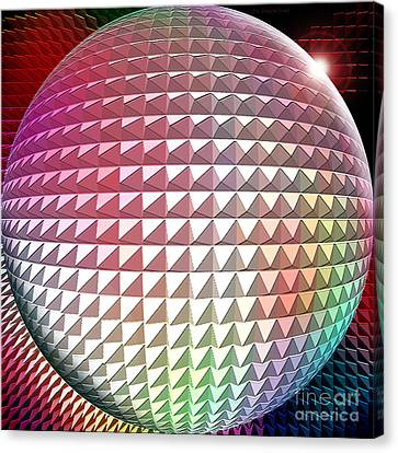 Orb It Canvas Print by Cristophers Dream Artistry