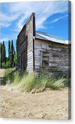 Oregon Ghost Town Canvas Print by Jen Bodendorfer