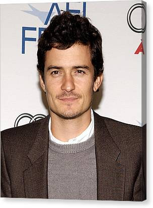 Orlando Bloom At Arrivals For Afi Fest Canvas Print by Everett