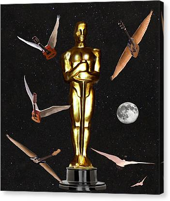 Oscars Night Out Canvas Print by Eric Kempson