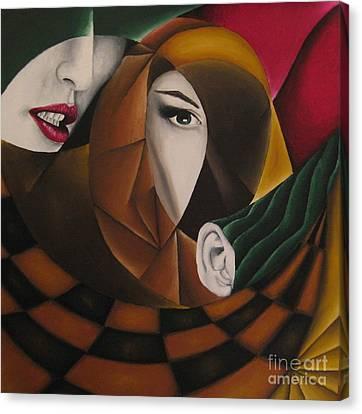 Ossa Canvas Print by Kleopatra Aurel