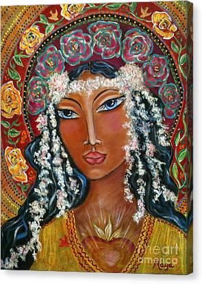 Our Lady Of Lost Causes Canvas Print by Maya Telford