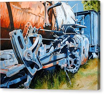 Out Of Gear Canvas Print by Chris Steinken