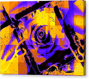 Out Of The Box Expression Canvas Print by Fania Simon
