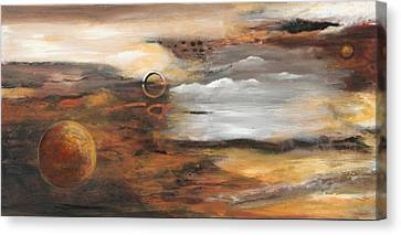 Outer Moons Canvas Print by Lauren  Marems