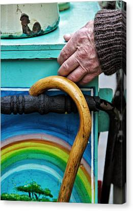 Over The Rainbow Canvas Print by Odd Jeppesen