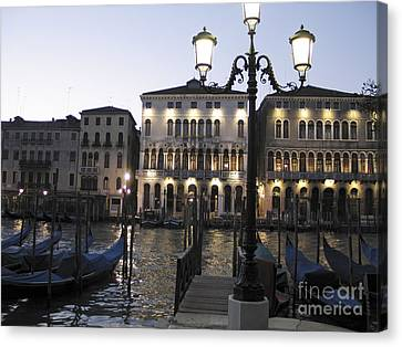 Palace. Venice Canvas Print by Bernard Jaubert