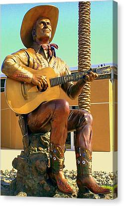 Palm Springs Gene Autry 2 Canvas Print by Randall Weidner