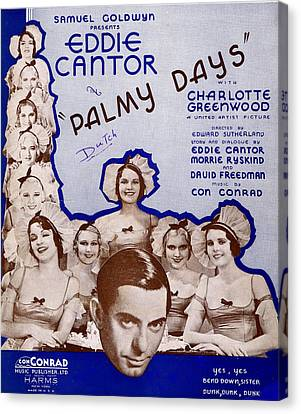 Palmy Days Canvas Print by Mel Thompson