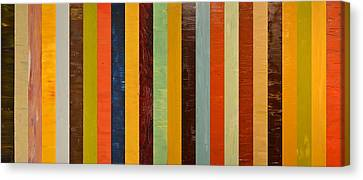 Panel Abstract Lll  Canvas Print by Michelle Calkins