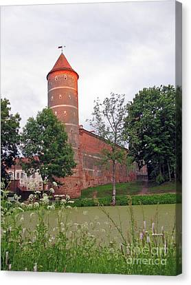 Panemunes Castle. Lithuania. Canvas Print by Ausra Huntington nee Paulauskaite
