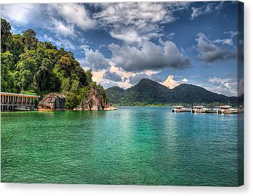 Pangkor Laut Canvas Print by Adrian Evans