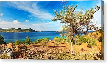 Panorama Island Canvas Print by MotHaiBaPhoto Prints